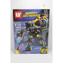 Lego Nave Avião Robo Liga Justiça Blocos Montar Novo