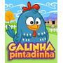 Galinha Pintadinha Desenho Infantil Coleção Completa 4 Dvds
