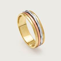 Aliança Especial Em Ouro 18k De Noivado Ou Casamento