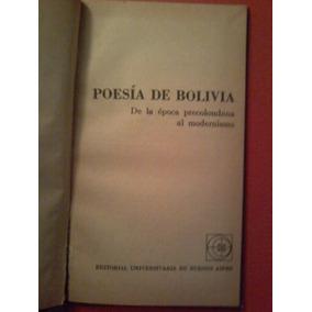 Poesía De Bolivia De Época Precolombina Al Modernismo