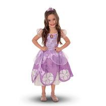 Disfraz Princesa Sofia Deluxe Original Con Amuleto Regalo