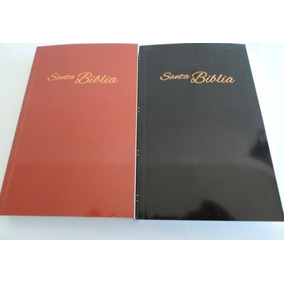 Biblia Reina-valera Actualizada 2015 Tapa Blanda Rojo,negro