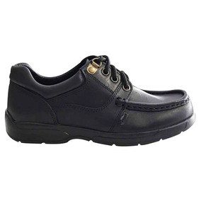 Zapato Acordonado Colegial Cuero Reforzado 34-40 Marcel