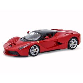 Miniatura Ferrari Laferrari Vermelha 1:24 Metal
