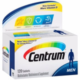 Vitamina Centrum Homem 120 Capsulas Direto Estados Unidos