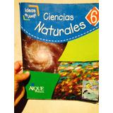 Libro Ciencias Naturales 6 Ideas En Juego Didacticwolrd®