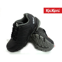 Zapatilla Kickers Strech Laces Carry Colegial Niño Empo2000