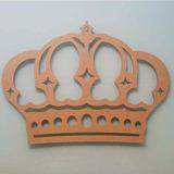 Coroa Princesa Mdf 60x45 Decoração Festa Provençal Infantil