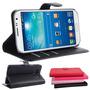 Case Samsung Galaxy J3 Carteira Couro + Pelicula De Vidro