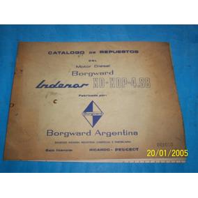Catalogo De Repuestos Motor Borgward Indenor