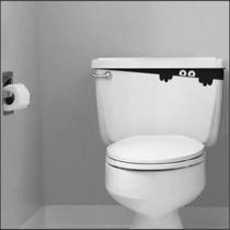 Adesivo Para Caixa De Descarga Acoplada Vaso Sanitário