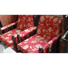 2 Poltronas Coloniais Antigas Rusticas Restauradas Sofa