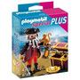 Playmobil 4783 Special Plus Pirata Con Cofre Del Tesoro