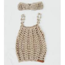 Musculosa Tejida A Crochet De Nena