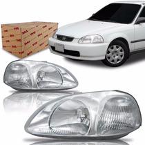 Farol Honda Civic 1996 1997 1998 Tyc