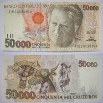 Nota De 50.000 Cinquenta Mil Cruzeiros