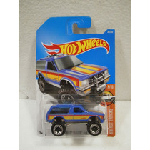 Enigma777 Hot Wheels Camioneta Chevy Blazer 4x4 34/365 2017