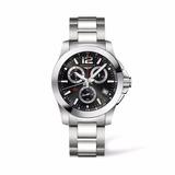 Reloj Longines Conquest Chrono 1/100th L37004566   Original