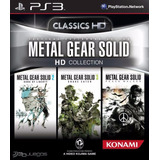 Metal Gear Solid Hd Coleccion Ps3 Original Entrega Inmediat