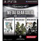 Metal Gear Solid Hd Coleccion Ps3 Original Entrega Inmediat