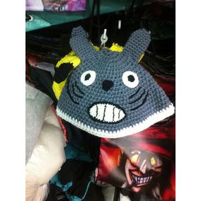 Totoro Peluche Crochet Gorra