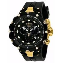 Relógio Invicta Subaqua Venom Douradopreto 1521 Ccaixa C1090
