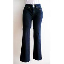Pantalón Mezclilla Azul Dama Strech Weekend Talla 7 Amplio