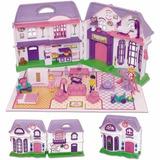 Brincando De Casinha - Casa Lar Doce Lar Com Bonecas