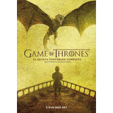 Dvd Game Of Thrones Temporada 5 Nueva Cerrada Original