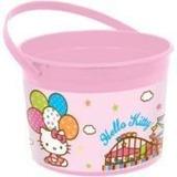 Tobo Plastico Para Cotillon O Centro De Mesa Hello Kitty