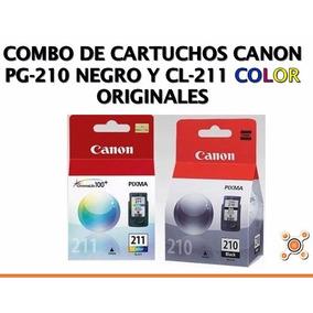 Combo Cartuchos Canon Pg-210/cl-211 100% Originales Vigentes