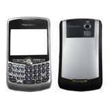 Carcasa Blackberry 8330 Plata Con Trackball Nueva Original