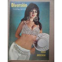 Olga Breeskin Sexy Foto En Portada Revista Diversion 1974