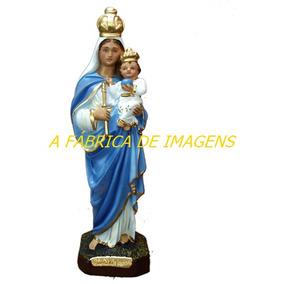 Escultura Nossa Senhora Auxiliadora Linda Imagem 20c Fabrica