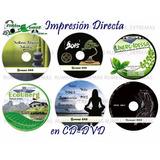 Impresión Directa De Cd/dvd Full Color