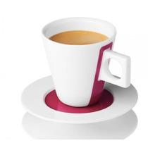 Dolce Gusto Set 2 Taza Iconica Porcelana Espresso Plato