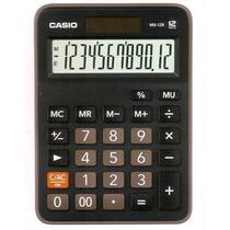 Calculadora De Mini Escritorio, Negra 12 Dígitos Mx-12b-bk