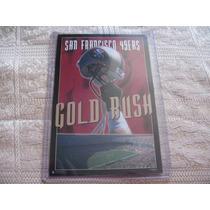 1990´s Promo Mini Poster San Francisco 49er Gold Rush