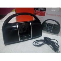 Boombox Gpx Bi100b Am/fm Con Base Para Ipod 1era Generacion