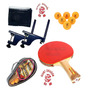 Set Ping Pong 2 Paletas + 2 Pelotas + Red Profesional Oferta