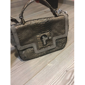 Juicy Couture Bolsa Piel 100% Nueva Original Gris Messengerm