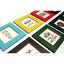 Cuadritos 16x16 Cm Grabados C/diseños Frases Marcos Colores