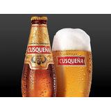 Cerveza Cusqueña Vicente Lopez