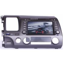 Central Multimidia Ap-h003 Honda Civic Tela 7 + Câmera De Ré