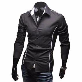 Camisa Satinada Hombre - Ropa 70623fb68d1