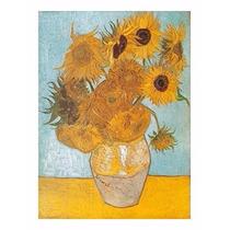 Quebra Cabeça Puzzle Importado 1000 Peças Van Gogh Girassóis