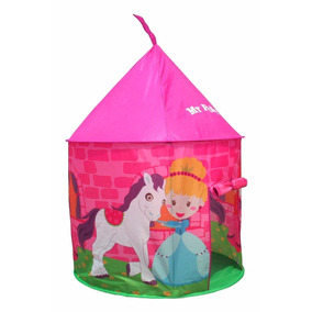 carpa infantil nena pony casita juego plegable baby shopping