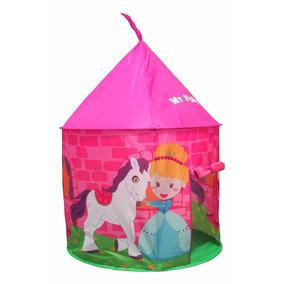 carpa infantil nena pony casita juego plegable baby shopping