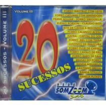 20 Sucessos Vol 3 Cd 20 Sucessos Rede Somzoom Sat Forró