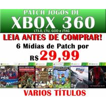 Patch De Xbox 360 - Dublado E Legendado - + De 400 Títulos